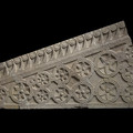Fig. 14: The 9th century ambo slab; limestone, 32 × 82 × 10 cm; Museum of Croatian Archaeological Monuments. Credit: Z. Alajbeg