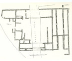 Fig. 36: Crkvina in Biskupija, plan of the architectural complex with the church of St Mary. Credit: MHAS documentation