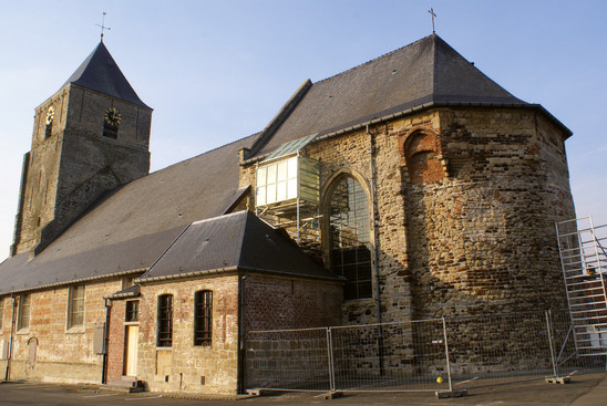 Fig. 18: Saint Martinus church in Velzeke, Belgium. Credit: Provinciaal Archeologisch Museum Velzeke