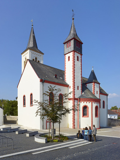 Fig. 22: Pfalz at Ingelheim, 'Saalkirche' today. Credit: Kaiserpfalz Ingelheim, photo Ralph Rainer Steffens