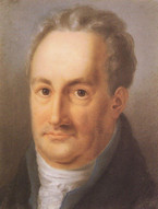 Fig. 49: Johann Wolfgang von Goethe in 1811, pastel of Louise Seidler, 1811. Credit: Louise Seidler, [PD-Art (PD-old-100)] via Wikimedia commons