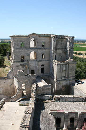 Fig. 20: Montmajour. The baroque ruins of the monastery. Credit: F. Paone, INRAP