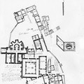 Fig. 22: Montmajour. Plan dated of the year 1656. Credit: Aix – Marseille Université