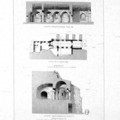 Fig. 25: Montmajour. Engravings of the chapel interior and of two capitels of Corinthian style, by H. Révoil (19th century). Credit: Aix – Marseille Université