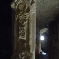 Fig. 9: Montmajour. Chapel of St Peter, ornate pillar. Credit: A. Hartmann-Virnich