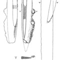 Fig. 58: Sword and knives from the Valkhof. Credit: Cultural Heritage Agency of the Netherlands