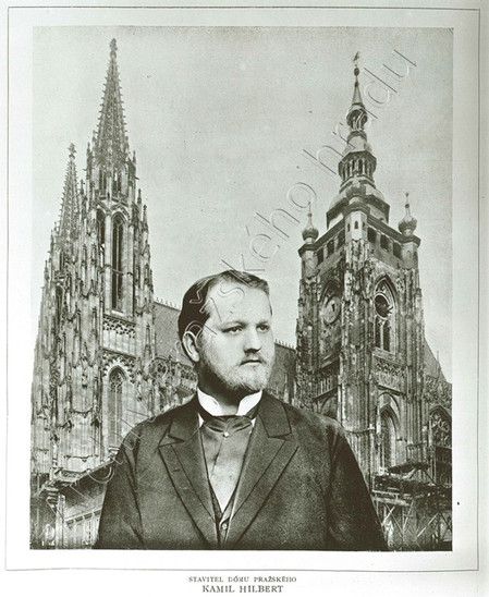 Fig. 26: Kamil Hilbert (1869–1933), second architect of the completion of St Vitus Cathedral. Credit: The Archive of the Prague Castle