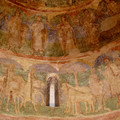 Fig. 7: The Přemyslids in the wall paintings of the Rotunda of St Catherine in Znojmo, 12th century. Credit: Aleš Flídr