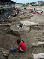 Fig. 30: Ongoing digs in the archaeological site of San Severo. Credit: Fondazione RavennAntica