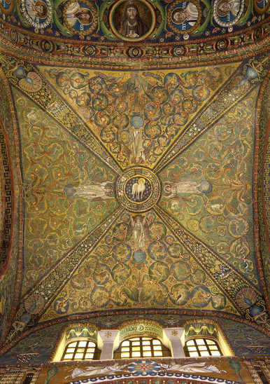 Fig. 54: Ceilings at the basilica of San Vitale. Credit: Municipality of Ravenna