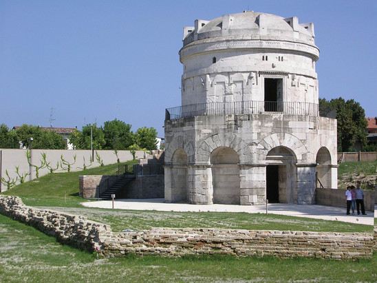 Fig. 57: The Mausoleum of Theodoric. Credit: Municipality of Ravenna