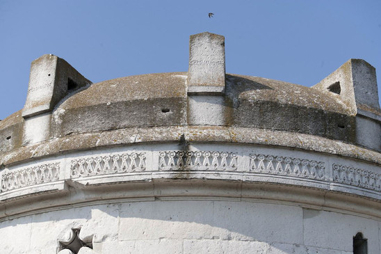Fig. 58: The Mausoleum of Theodoric (detail of the ornament). Credit: P. Bernabini, courtesy of SBAP-RA (MIBAC-Italy)